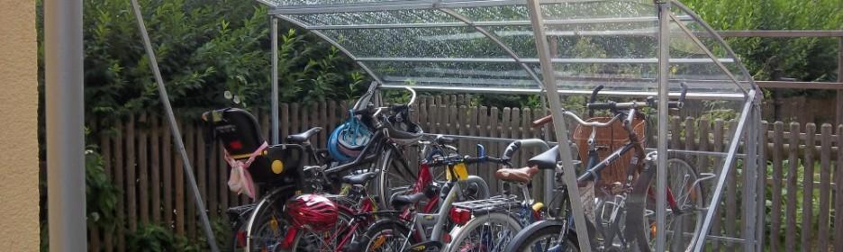 Fahrradüberdachung Modell BigRoof
